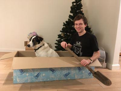 Собака Эри из приюта Бирюлево нашла дом Бирюлево