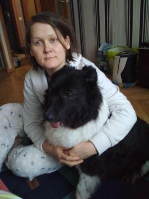 Собака Альма из приюта нашла дом Бирюлево
