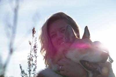 Собака из приюта Лея нашла дом Бирюлево